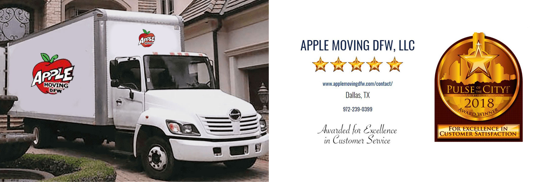 apple moving award dfw